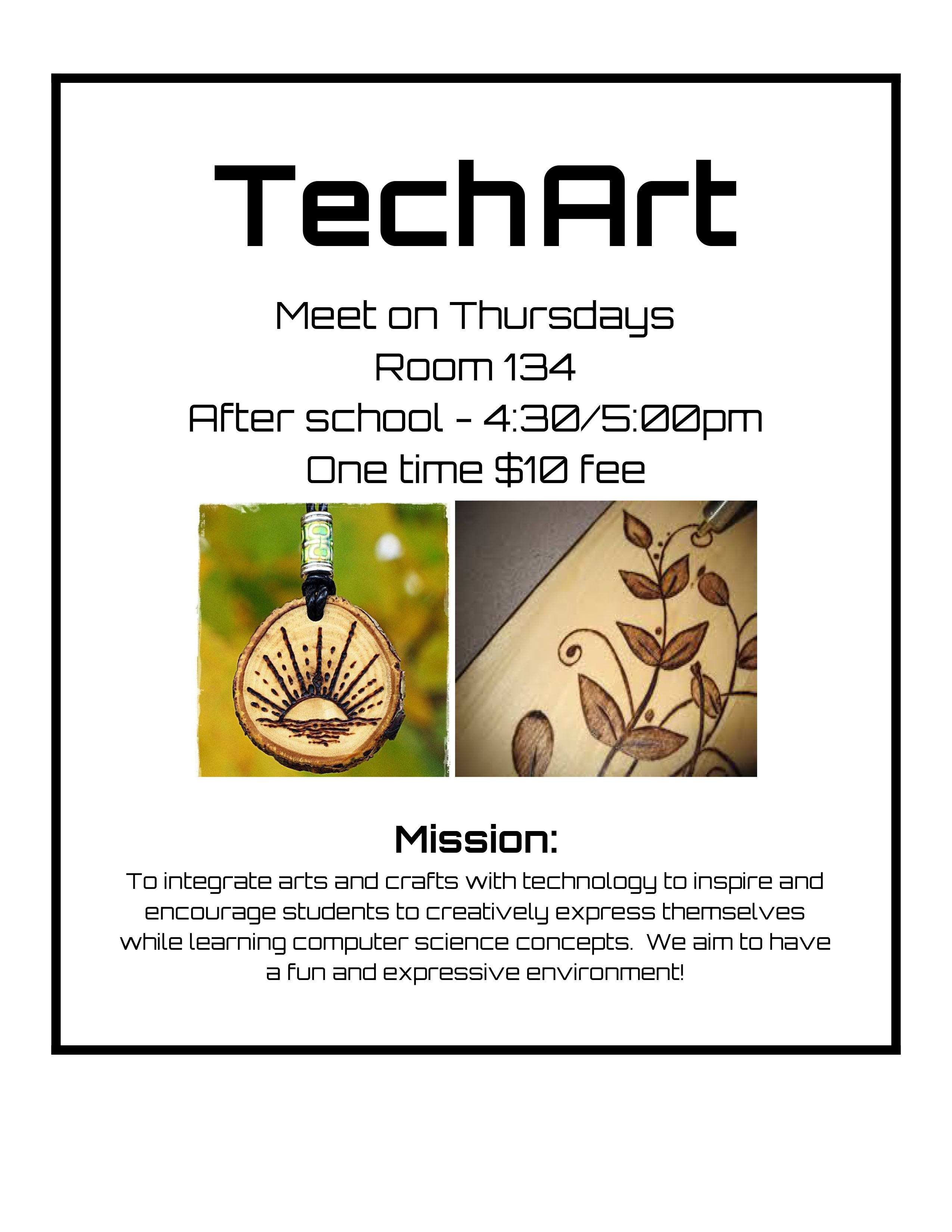 Tech Art Flyer