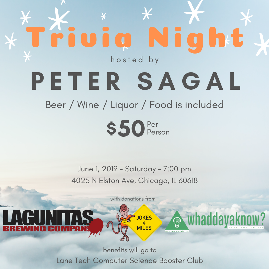 Trivia Night Flyer without Bitly